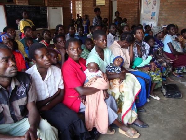 Waiting at Malawi Health clinic_0